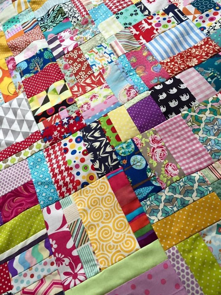 scrap-buster scrap-quilt