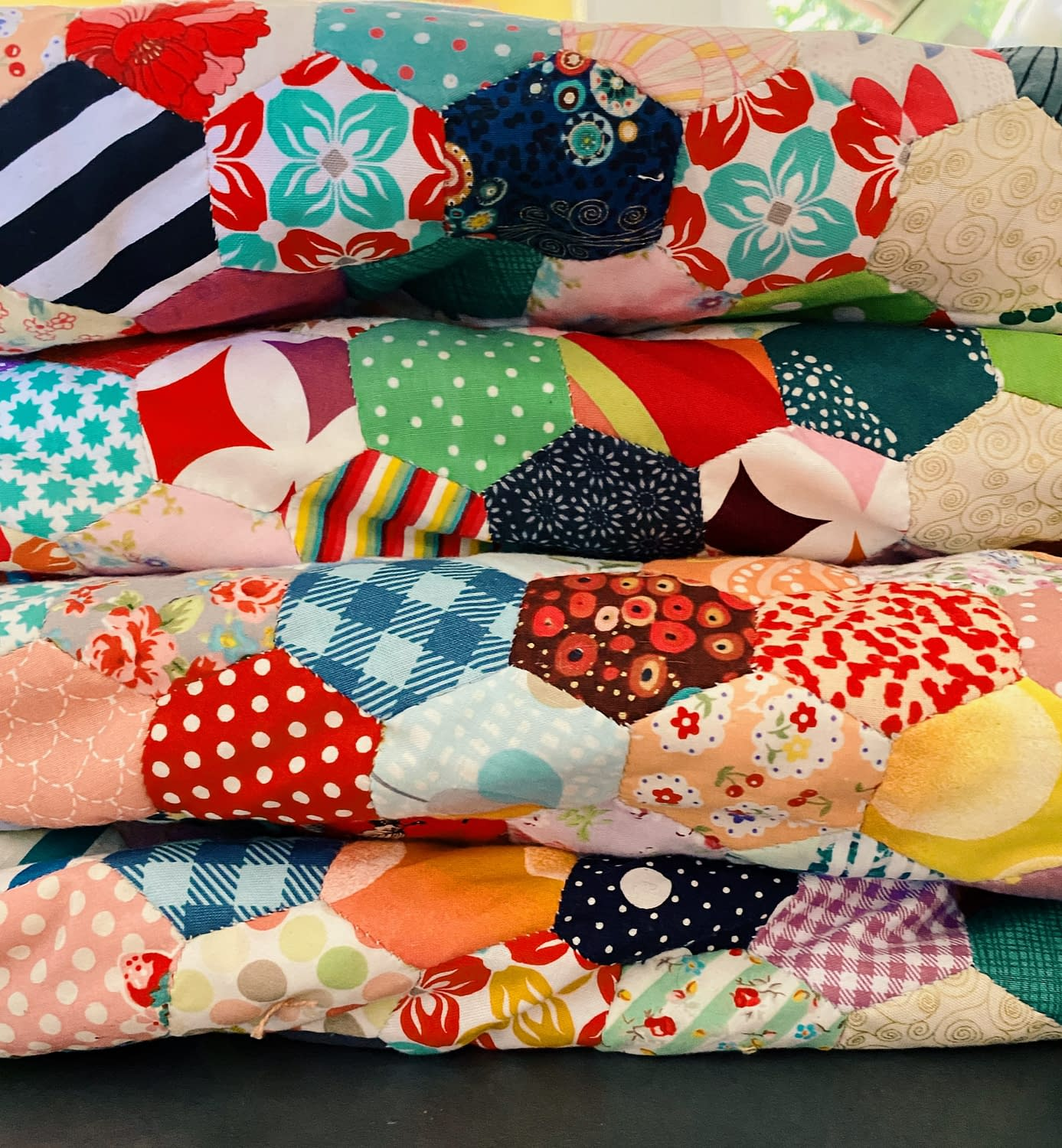 EPP-Scrap-Quilt-Hand-Sewn-Quilts-Made-with-love
