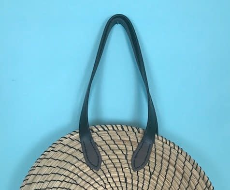bag making class, DIY rattan bag tutorial