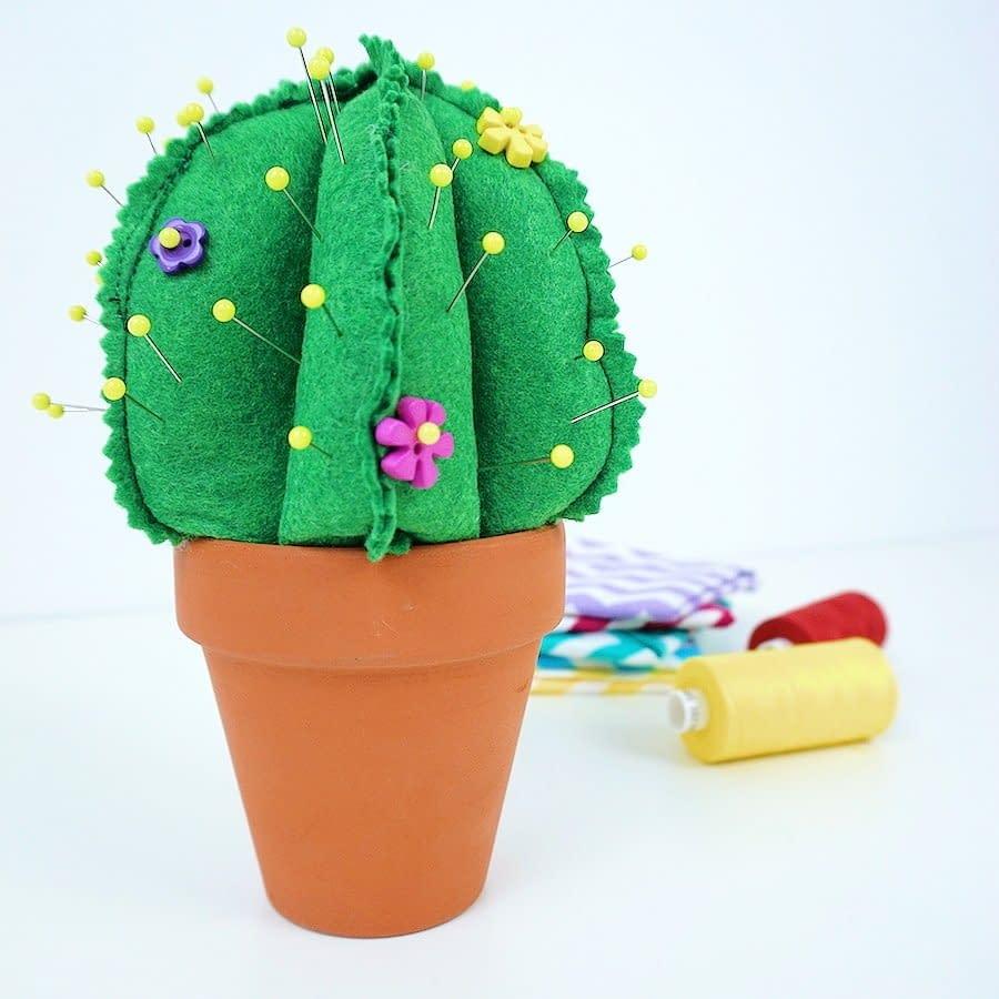 Sew A Cactus Pincushion course image